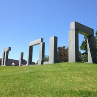Photo taken at UCSD Stonehenge by Charlie Enna C. on 8/10/2013