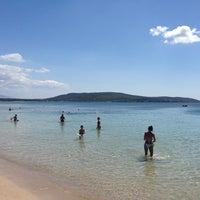 Photo taken at Spiaggia di Mugoni by Adriano B. on 8/21/2013