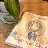 Photo taken at CaffieCanne by Jessica V. on 8/6/2013