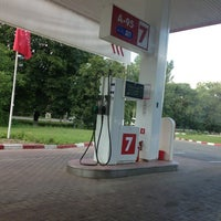 Photo taken at Lukoil by Леша Т. on 7/21/2013