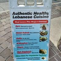 Photo taken at Raya Lebanese Restaurant by xelster on 1/19/2016