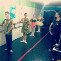 Photo taken at Escola de Danca Salmus by Mara O. on 4/16/2014
