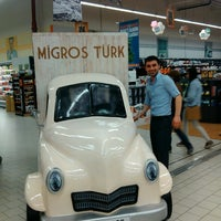 Photo taken at Migros by Selçuk Y. on 4/24/2013
