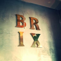 Photo taken at Brix by Valeria S. on 3/12/2014