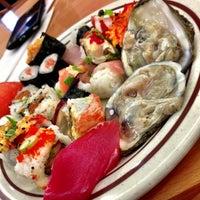 Photo taken at Sushi On by David on 5/5/2013