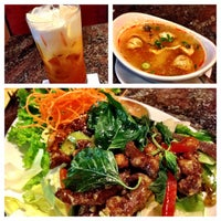 Photo taken at Thai Peppers by David on 10/16/2013