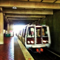 Photo taken at Vienna/Fairfax-GMU Metro Station by David on 5/4/2013