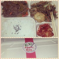 Photo taken at CU Meal Box by tetel a. on 9/11/2013