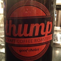 Photo taken at Thump Coffee by Melissa L. on 12/2/2012