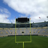 Photo taken at Lambeau Field by Tom S. on 6/2/2013