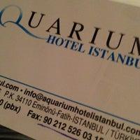 Foto tomada en Aquarium Hotel Istanbul por Vasiliy S. el 6/1/2013