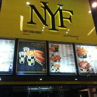 Photo taken at New York Fries by Rawan. on 3/28/2013
