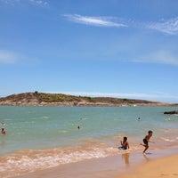 Photo taken at Praia da Direita by Heduan P. on 12/29/2012