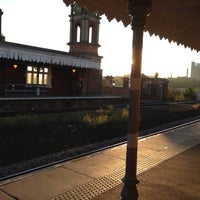 Photo taken at Bury St Edmunds Railway Station (BSE) by Davy B. on 7/15/2013