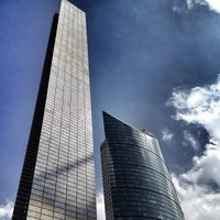 Photo taken at Torre Mayor by Mauricio V. on 8/16/2013