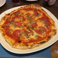 Photo taken at Ajo Pizzeria by Lin Y. on 7/9/2016