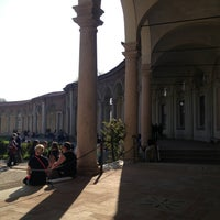 Photo taken at Rotonda della Besana by Diletta M. on 4/15/2013