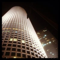 Photo taken at Azrieli Square Tower by sergio on 3/18/2014