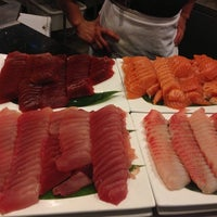 Photo taken at Kome Japanese Seafood & Grill by Fred C. on 7/27/2013
