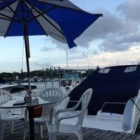 Photo taken at Marina Ponta da Areia Bar e Restaurante by Silas F. on 9/7/2013