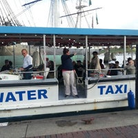Photo taken at Water Taxi Landing 2 - Harborplace by Mieko R. on 10/20/2012