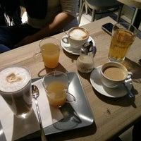 Photo taken at Small Change Coffee by Moni K. on 1/28/2014