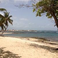 Photo taken at Plage de l'Autre Bord by Jahjah R. on 6/12/2013