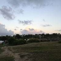 Photo taken at Plage de Saint-Félix by Jahjah R. on 12/29/2013