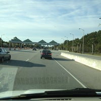 Photo taken at Hilton Head Toll Booth by Dustin D. on 3/21/2013