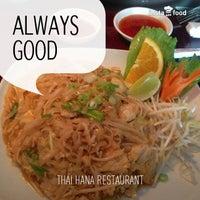 Photo taken at Thai Hana Restaurant & Sushi Bar by George H. on 7/13/2013