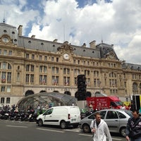 Photo taken at Arrêt Gare Saint-Lazare [20,21,22,24,26,27,28,29,32,53,66,80,94] by Marc K. on 6/30/2014