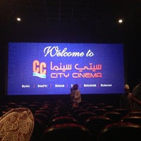 Photo taken at City Cinema by Ahmed E. on 6/12/2013