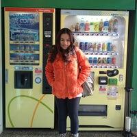 Photo taken at 강릉여고버스정류장 by Yanisa S. on 3/11/2013