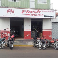 Photo taken at Flash Motos by Cristiano-aline A. on 6/21/2013