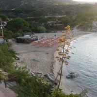 Photo taken at Spiaggia Seccheto by Isabella P. on 8/30/2014