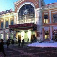 Photo taken at Savyolovsky Rail Terminal by Sergey B. on 3/26/2013