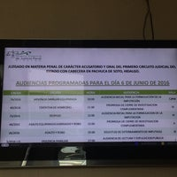 Photo taken at Salas De Oralidad En Materia Penal by Jose N. on 6/6/2016
