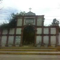 Photo taken at Panteon Municipal Tlaxcoapan by Jose N. on 1/5/2015