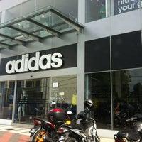 Photo taken at Adidas Concept Store Kuala Terengganu by Putera Iffat Ajmal on 8/7/2013