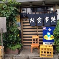 Photo taken at 大衆割烹 与作 by Eiji O. on 4/19/2014
