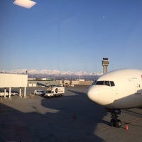 Photo taken at Anchorage International North Terminal by Kane on 4/11/2014