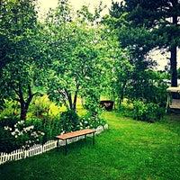 Photo taken at Romanos Luxury Villa Spa & Resort by Roman P. on 6/22/2013