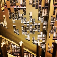 Photo taken at NYU Elmer Holmes Bobst Library by Greg C. on 3/26/2013