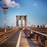 Photo taken at Brooklyn Bridge by Greg C. on 7/19/2013
