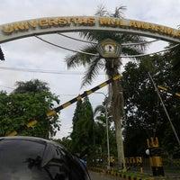 Photo taken at Universitas Mulawarman by Destari S. on 6/17/2014