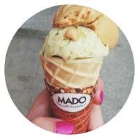 Снимок сделан в Cafe Mado пользователем Alexandra S. 5/22/2013