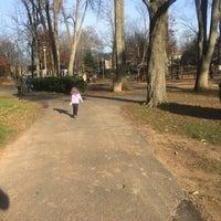 Photo taken at Memorial Park Playground by Megan C. on 12/4/2016