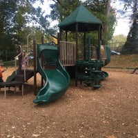Photo taken at Memorial Park Playground by Megan C. on 10/16/2016