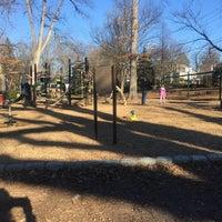 Photo taken at Memorial Park Playground by Megan C. on 1/1/2017