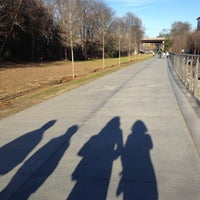 Das Foto wurde bei Atlanta BeltLine Corridor at Irwin St. von Melina B. am 12/30/2012 aufgenommen